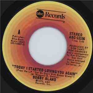 Bobby Bland - Today I Started Loving You Again / Too Far Gone flac album