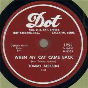 Tommy Jackson  - When My Cat Came Back / Dusty Miller flac album