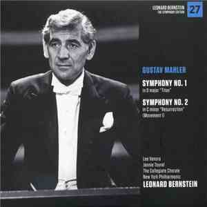 "Gustav Mahler - New York Philharmonic, Leonard Bernstein - Symphony No. 1 ""Titan"" - Symphony No. 2 ""Resurrection"" (Movement I) flac album"