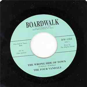 The Four Vandals - The Wrong Side Of Town / The Wrong Side Of Town (Instrumental) flac album