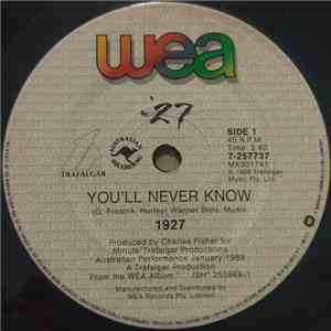 1927 - You'll Never Know flac album