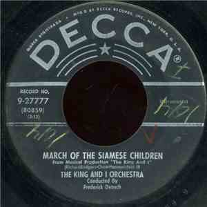 The King And I Orchestra / Gertrude Lawrence And Yul Brynner With The King And I Orchestra - March Of The Siamese Children / Shall We Dance? flac album