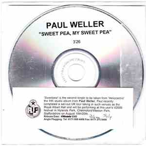 Paul Weller - Sweet Pea, My Sweet Pea flac album