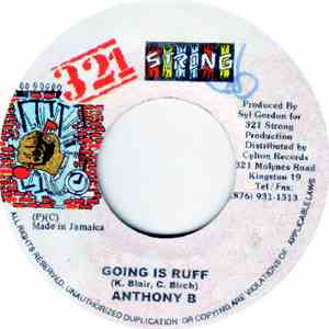 Anthony B - Going Is Ruff flac album