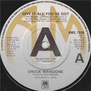 Chuck Mangione - Give It All You've Got flac album