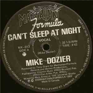Mike Dozier - Can't Sleep At Night flac album