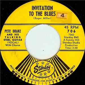 Pete Drake And His Talking Steel Guitar - Invitation To The Blues flac album