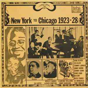 Various - New York To Chicago 1923-28 flac album