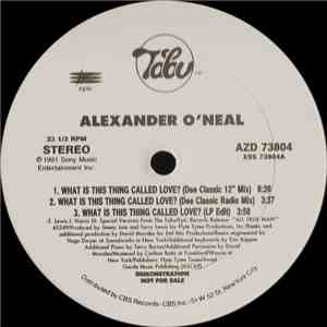 Alexander O'Neal - What Is This Thing Called Love? flac album