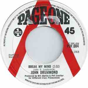 John Drummond And The Capitols - Break My Mind flac album