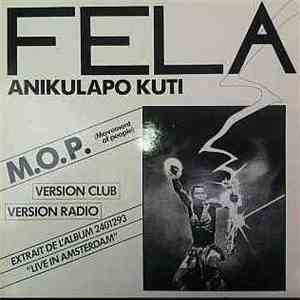 Fela Anikulapo Kuti - M.O.P. ( Movement Of People ) flac album