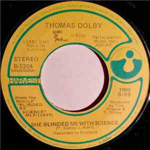 Thomas Dolby - She Blinded Me With Science flac album