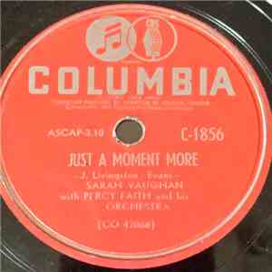 Sarah Vaughan - Just A Moment More / I Ran All The Way Home flac album