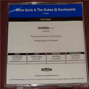 Steve Earle & The Dukes (And Duchesses) - Invisible flac album
