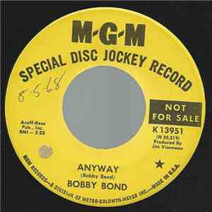 Bobby Bond - Anyway flac album