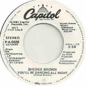 Sheree Brown - You'll Be Dancing All Night flac album