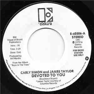 Carly Simon And James Taylor  - Devoted To You flac album