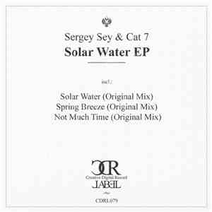 Sergey Sey & Cat 7 - Solar Water EP flac album