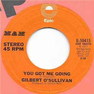 Gilbert O'Sullivan - You've Got Me Going flac album