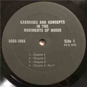 Unknown Artist - Excercises And Conepts In The Rudiments Of Music flac album