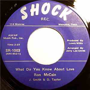 Ron McCain - What Do You Know About Love / Any Time Of Day flac album