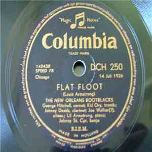 The New Orleans Bootblacks - Flat Foot / Mad Dog flac album